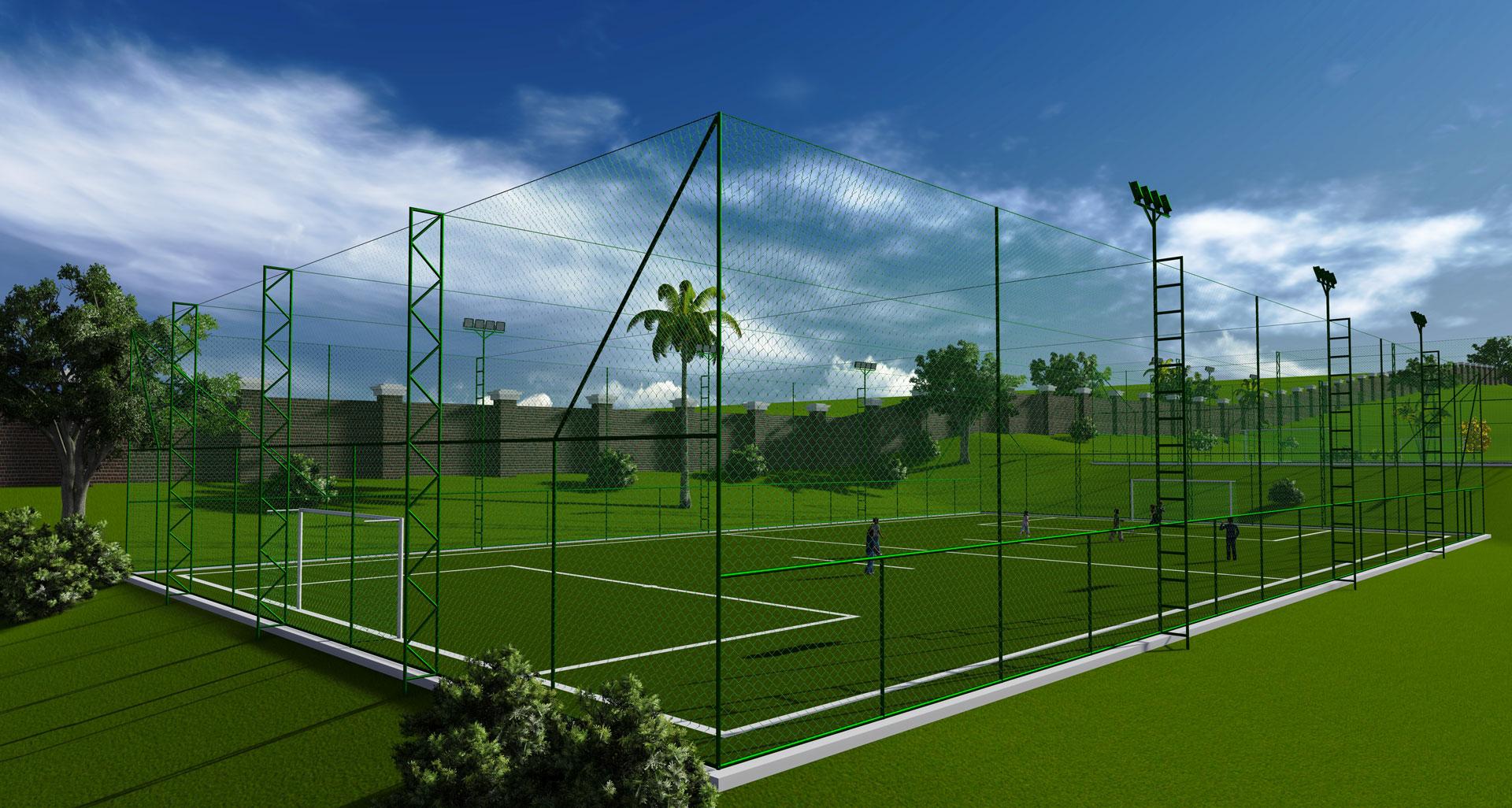 Projetos de quadras esportivas  861069f97b1ea